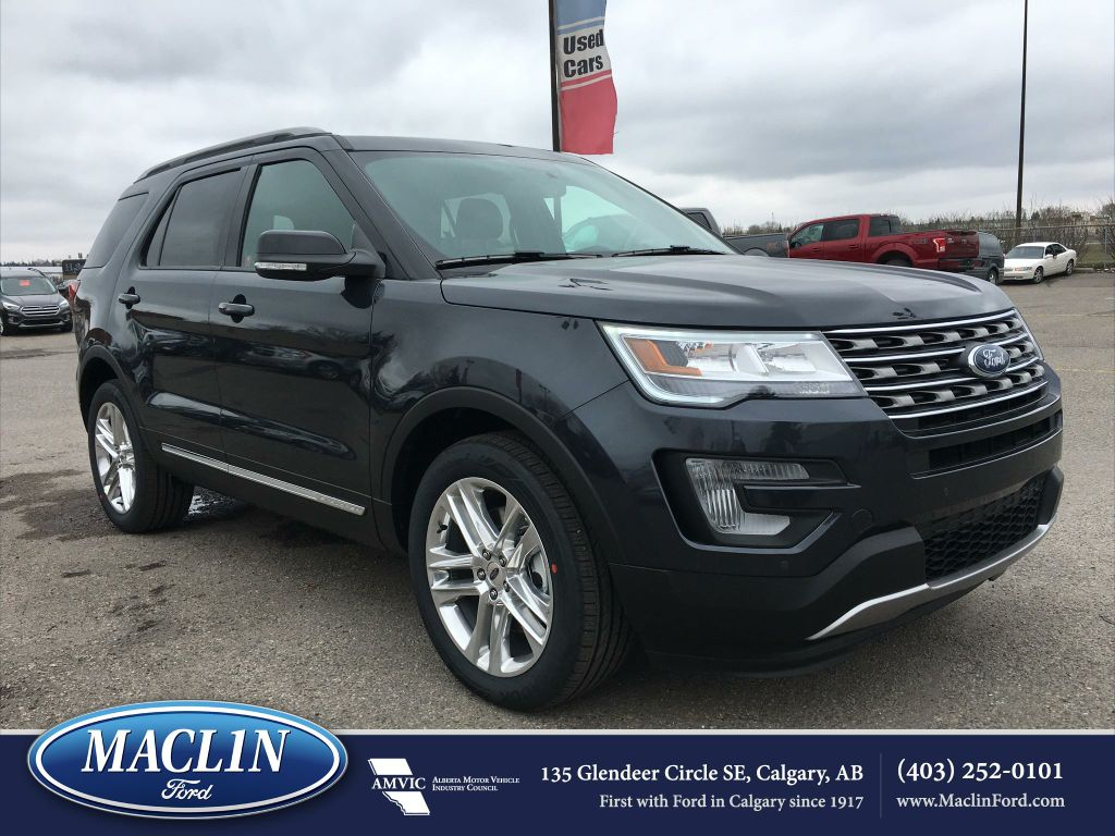 new 2017 ford explorer xlt in calgary 17ex4000 maclin ford. Black Bedroom Furniture Sets. Home Design Ideas
