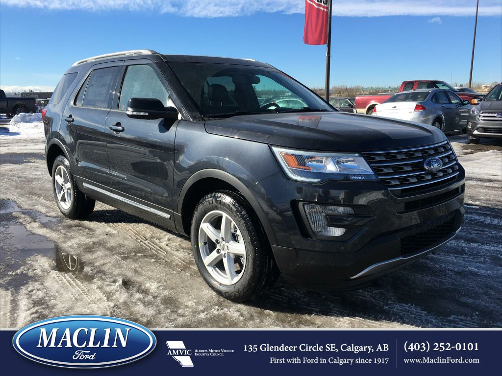 used 2017 ford explorer xlt in calgary 17ex1322 maclin ford. Black Bedroom Furniture Sets. Home Design Ideas