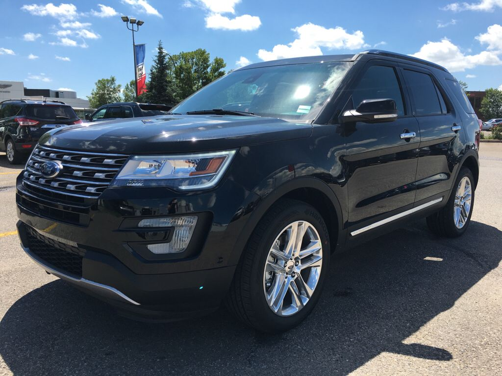 New 2017 Ford Explorer Limited In Calgary 17ex5428 Maclin Ford