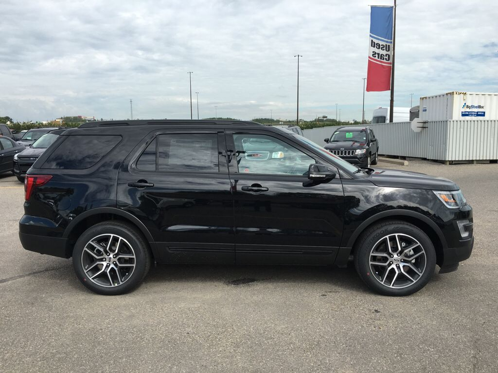 new 2017 ford explorer sport in calgary 17ex5822 maclin ford. Black Bedroom Furniture Sets. Home Design Ideas