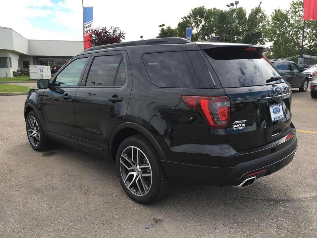new 2017 ford explorer sport in calgary 17ex5822 maclin ford