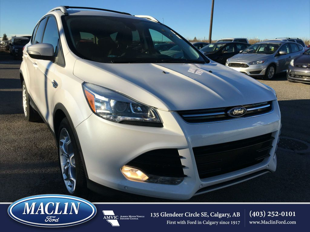 certified used 2015 ford escape titaninum in calgary 17es0902a maclin ford. Black Bedroom Furniture Sets. Home Design Ideas
