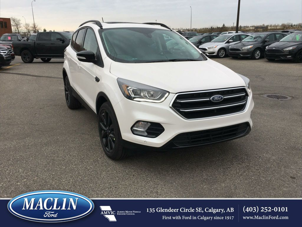 new 2018 ford escape titanium in calgary 18es5428 maclin ford. Black Bedroom Furniture Sets. Home Design Ideas