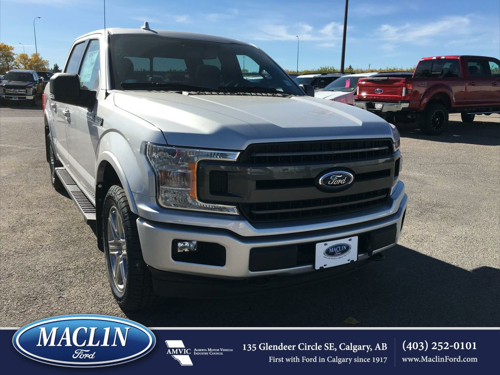 new 2018 ford f 150 xlt in calgary 18f15732 maclin ford. Black Bedroom Furniture Sets. Home Design Ideas