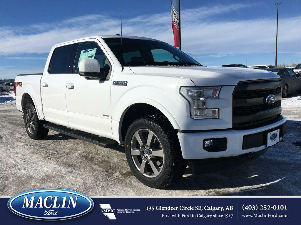 new 2017 ford f 150 lariat fx4 in calgary 17f19536 maclin ford. Black Bedroom Furniture Sets. Home Design Ideas