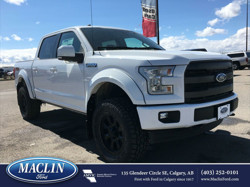 new 2017 ford f 150 lariat fx4 in calgary 17f10667 maclin ford. Black Bedroom Furniture Sets. Home Design Ideas