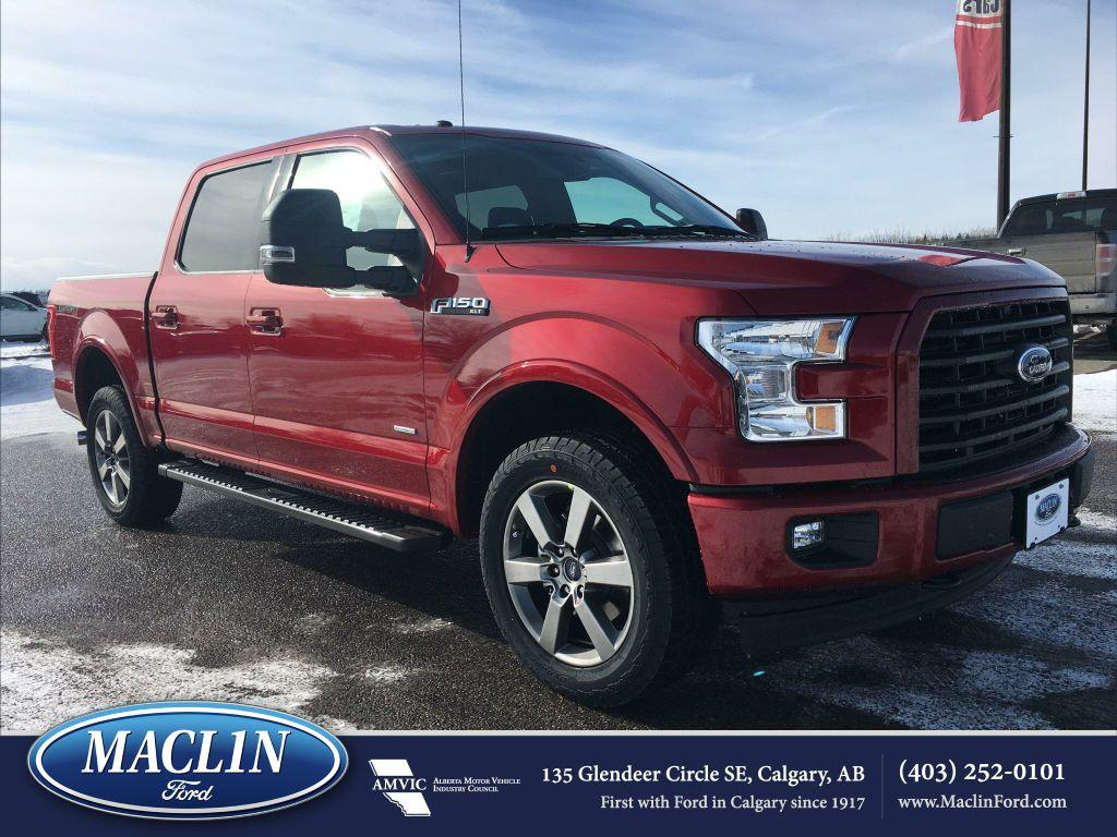 new 2017 ford f 150 xlt sport in calgary 17f178625 maclin ford. Black Bedroom Furniture Sets. Home Design Ideas