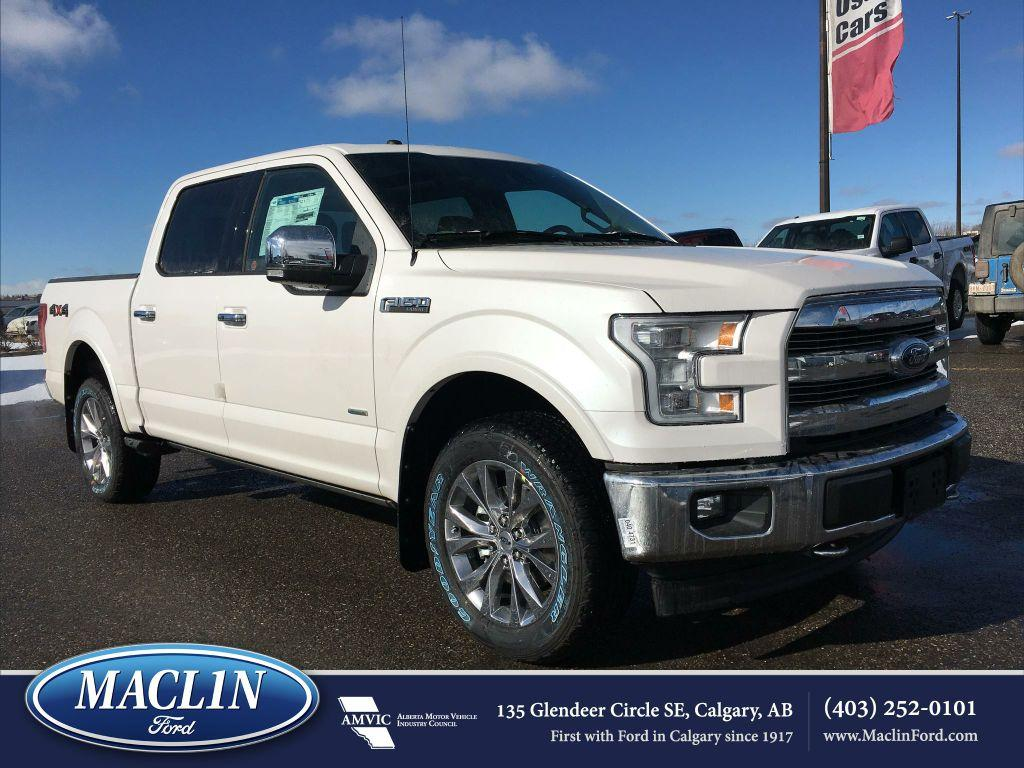 new 2017 ford f 150 lariat in calgary 17f10904 maclin ford. Black Bedroom Furniture Sets. Home Design Ideas
