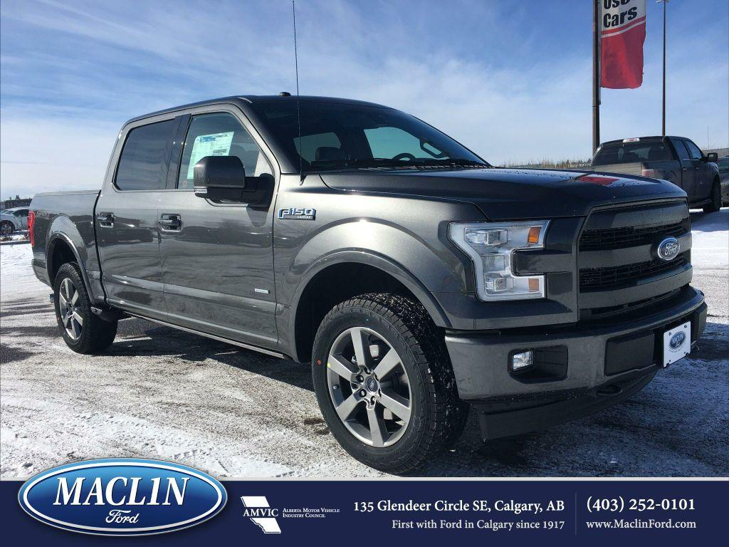 new 2017 ford f 150 lariat sport in calgary 17f14522 maclin ford. Black Bedroom Furniture Sets. Home Design Ideas