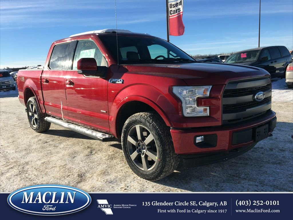 new 2017 ford f 150 lariat fx4 in calgary 17f14881 maclin ford. Black Bedroom Furniture Sets. Home Design Ideas