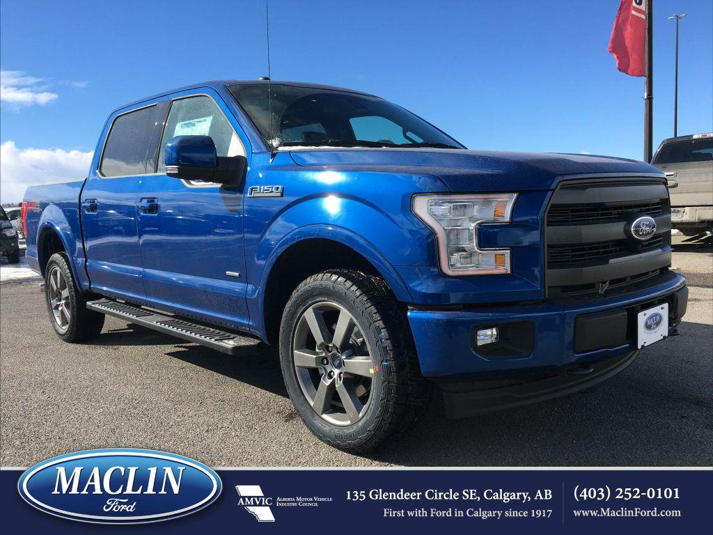 new 2017 ford f 150 lariat fx4 in calgary 17f19518 maclin ford. Black Bedroom Furniture Sets. Home Design Ideas