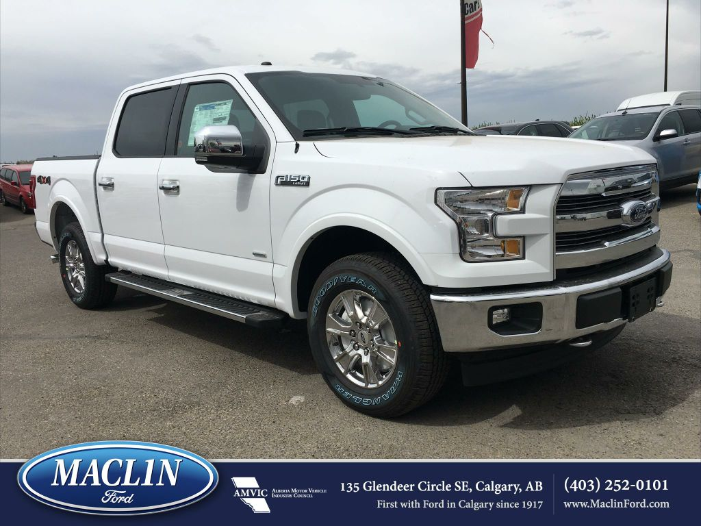 new 2017 ford f 150 lariat in calgary 17f10588 maclin ford. Black Bedroom Furniture Sets. Home Design Ideas