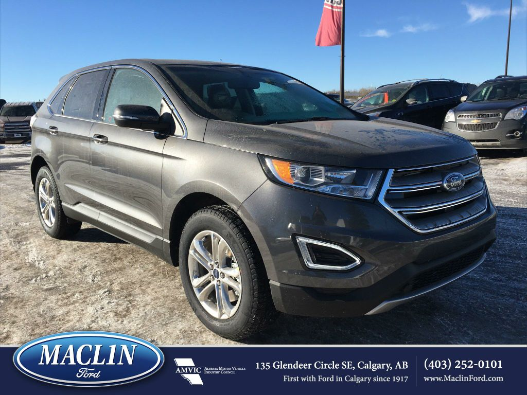 new 2017 ford edge sel in calgary 17ed2557 maclin ford. Black Bedroom Furniture Sets. Home Design Ideas