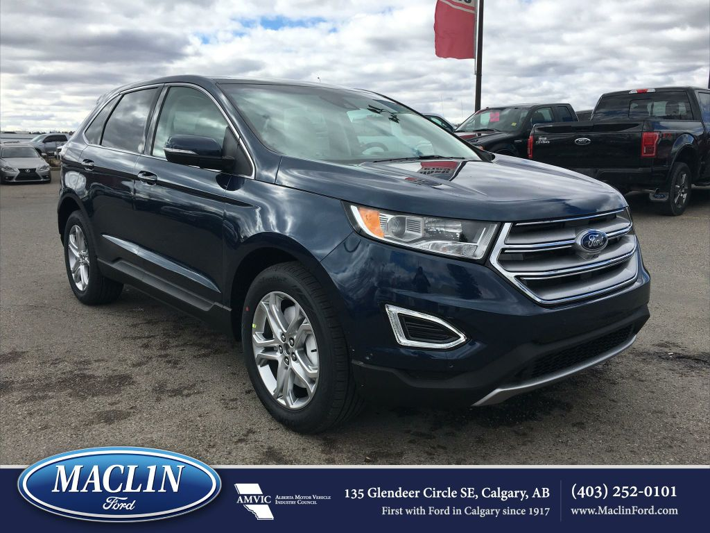 used 2017 ford edge titanium in calgary 17ed6874 maclin ford. Black Bedroom Furniture Sets. Home Design Ideas